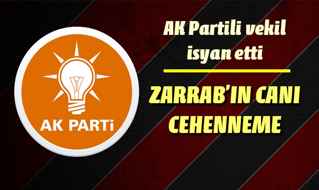 AK Partili vekilin Zarrab isyanı