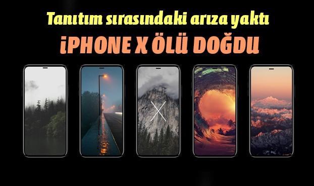 iPhone 8 ve iPhone x ölü doğdu