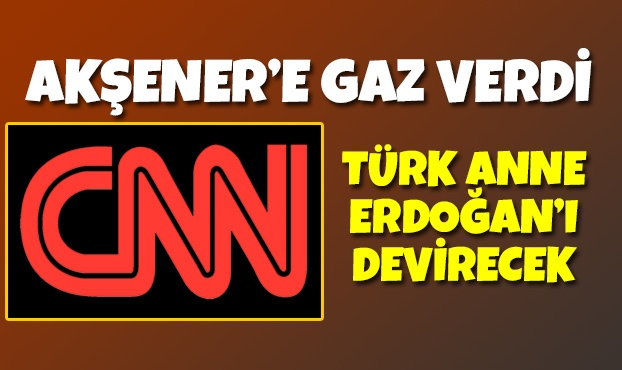CNN İnternational Meral Akşener'e gaz verdi